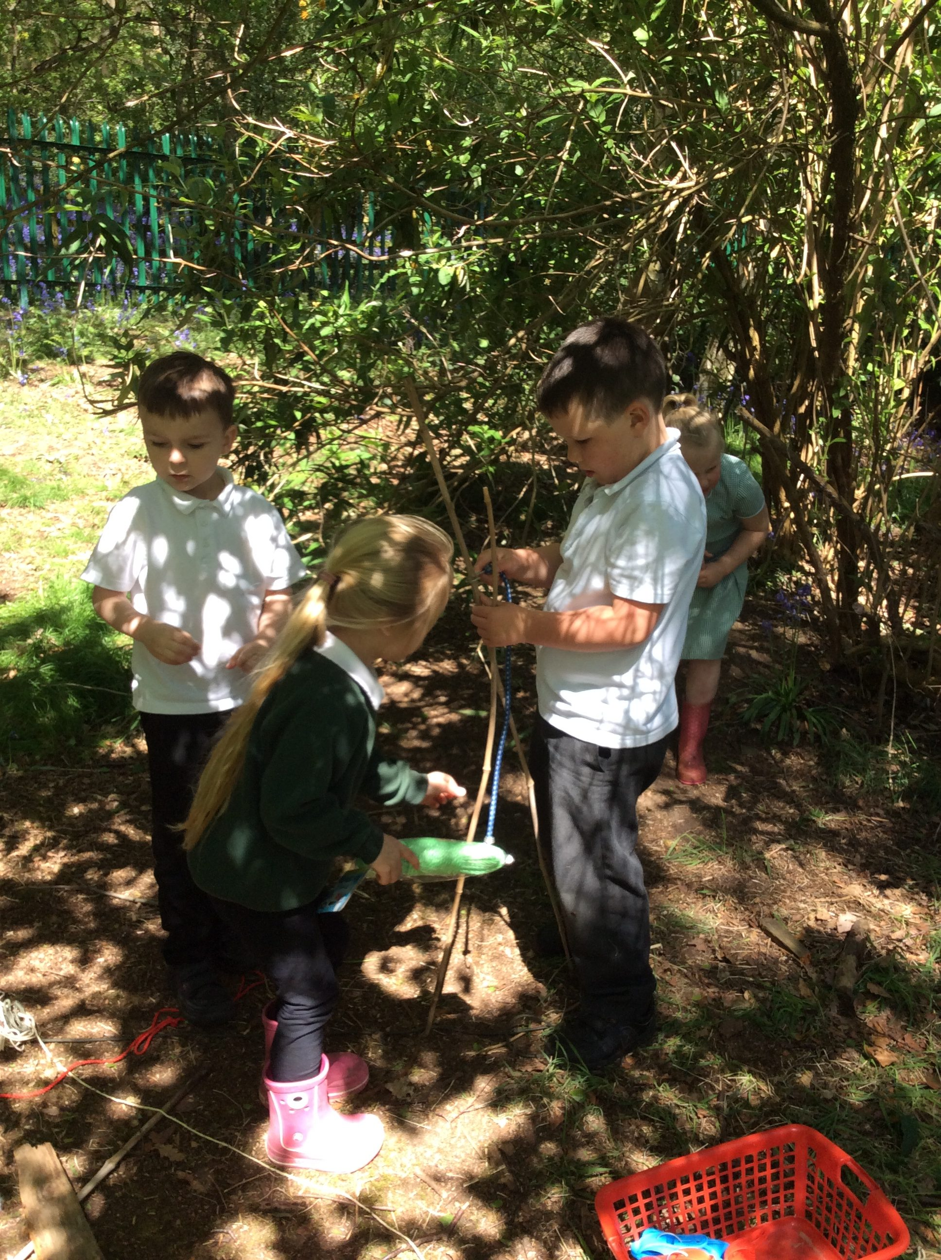 Reception Den Building