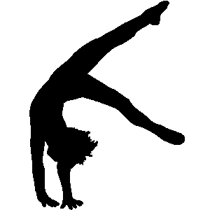 Gymnastics Silhouette 7